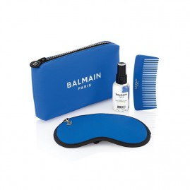 Balmain Limited Edition Cosmetic Bag SS21 Blue Komplekts
