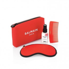 Balmain Limited Edition Cosmetic Bag SS21 Red Komplekts