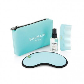 Balmain Limited Edition Cosmetic Bag SS21 Turquoise Komplekts