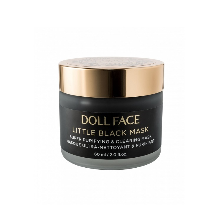 Doll Face Īpaši attīrošā maska LITTLE BLACK MASK
