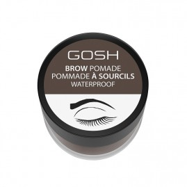 Gosh Copenhagen Uzacu Pomāde Dark Brown