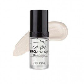 L.A. Girl Grima bāze PRO Coverage HD White