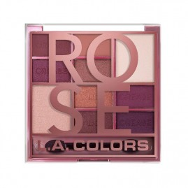 L.A. Colors Acu Ēnu Palete Color Block Rose