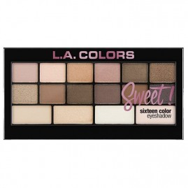 L.A. Colors Acu Ēnu Palete Sweet! 16 Charming