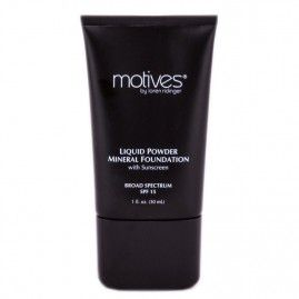Motives Grima bāze Liquid Powder Mineral Foundation SPF 15