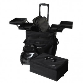 NYX Professional Makeup Artist Train Case 3 Tier Stackable Kosmētikas Koferis