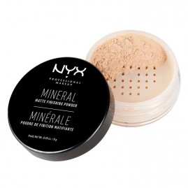 NYX Professional Makeup Mineral Finishing Powder Minerālu Pūderis