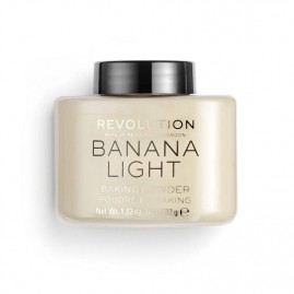 Revolution Beauty Birstošais Pūderis Banana Light