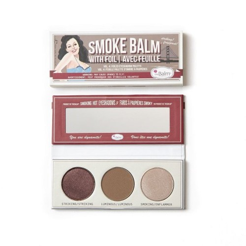 the Balm Cosmetics Acu Ēnu Palete Smokebalm® Vol. 4 (3 krāsas)